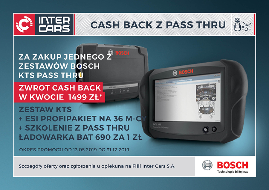 CASH BACK Z PASS THRU