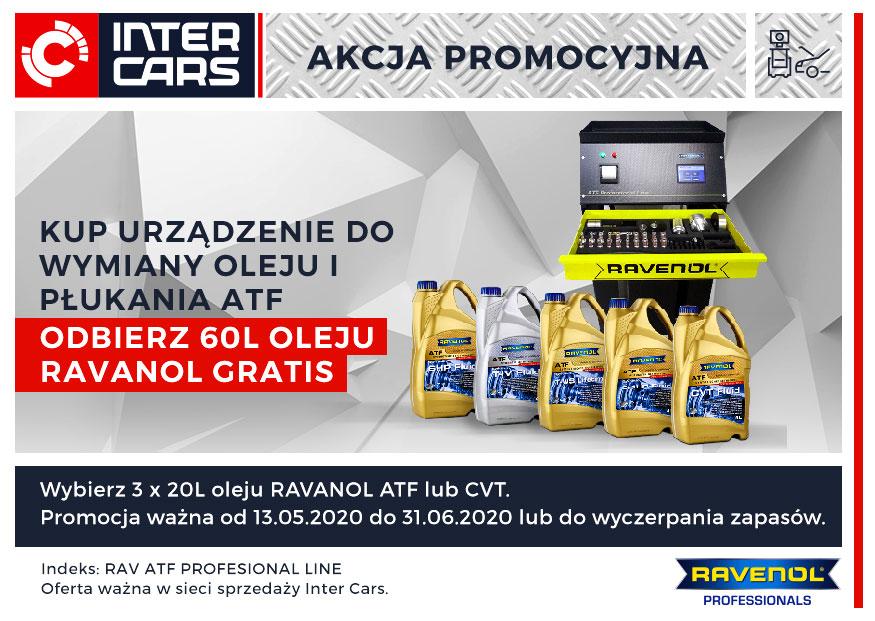 Urządzenie RAVENOL ATF + 60 litrów oleju w cenie