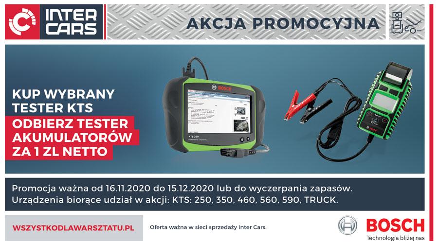 Jesienna promocja urządzeń Bosch - Tester akumulatorów