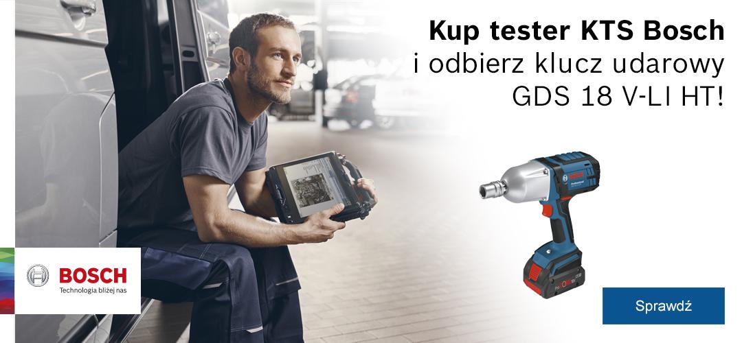 Klucz udarowy za zakup testera KTS