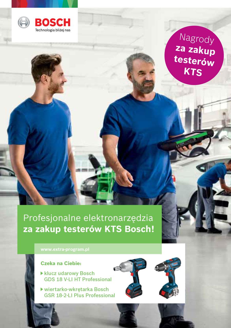 Profesjonalne elektronarzędzia za zakup KTS Bosch