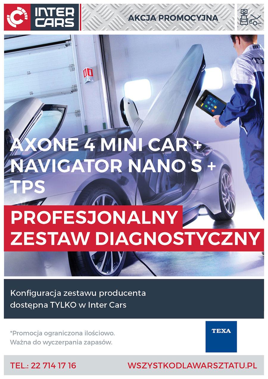 Profesjonalny Zestaw Diagnostyczny TEXA -Tylko w INTER CARS