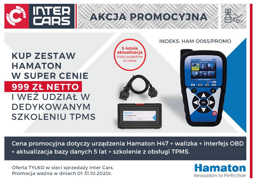 Promocyjny zestaw TPMS Hamaton z super dodatkami